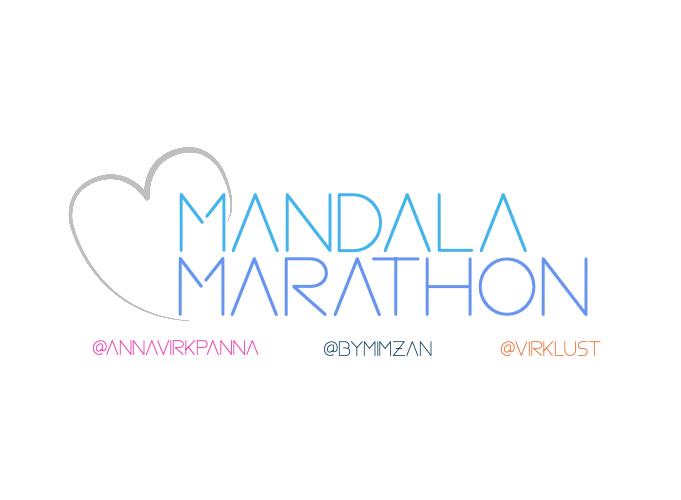 mandala maraton, @annavirkpanna, @bymimzan, @virklust